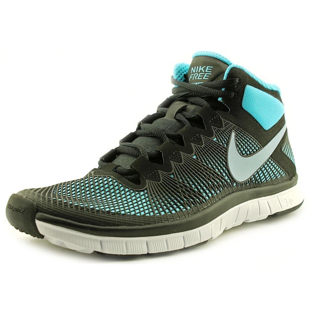 7bae39bd3858a Amazon.com: Nike Men's Free Trainer 3.0 Mid Black/Lt Armory Blue/GMM ...