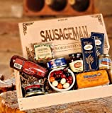 Great Gift for Dad - Gourmet Meat and Cheese Gift Box