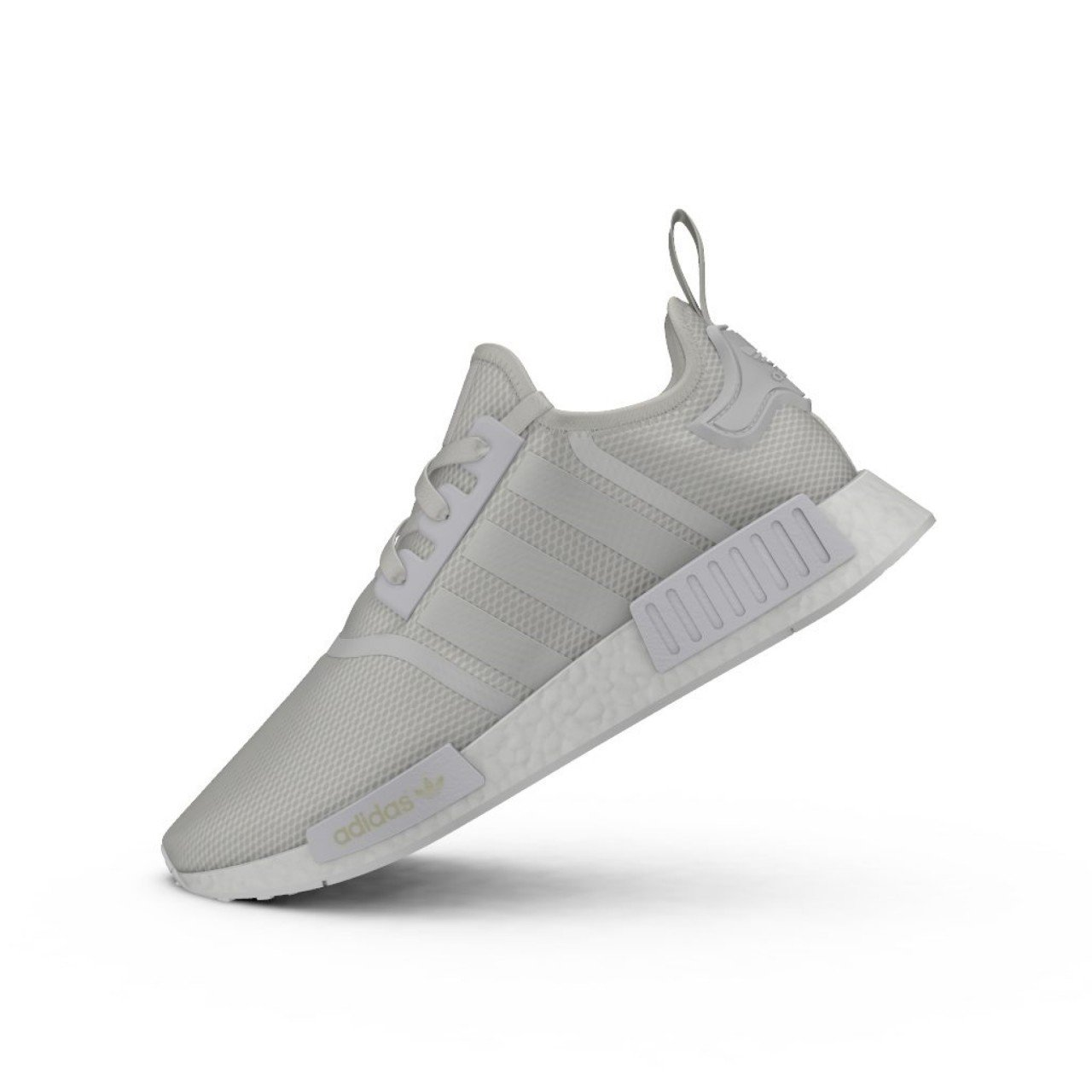 newest cf947 bf6f0 adidas Originals NMD R1 Mens Trainers Sneakers Shoes (UK 7.5 US 8 EU 41  1/3, Monochrome White S79166)