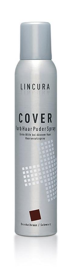 lincura pelo crecepelo Spray – Cover Spray óptica para cabello, en caída del cabello moreno