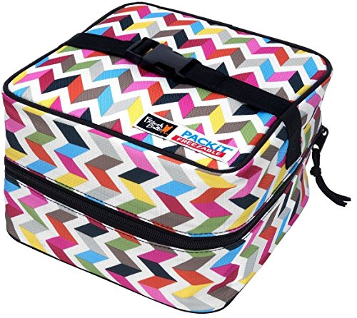 PackIt Freezable Salad Bag, Ziggy by PackIt