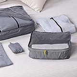 90FUN Travel Packing Organizers Bag Cubes Pouches