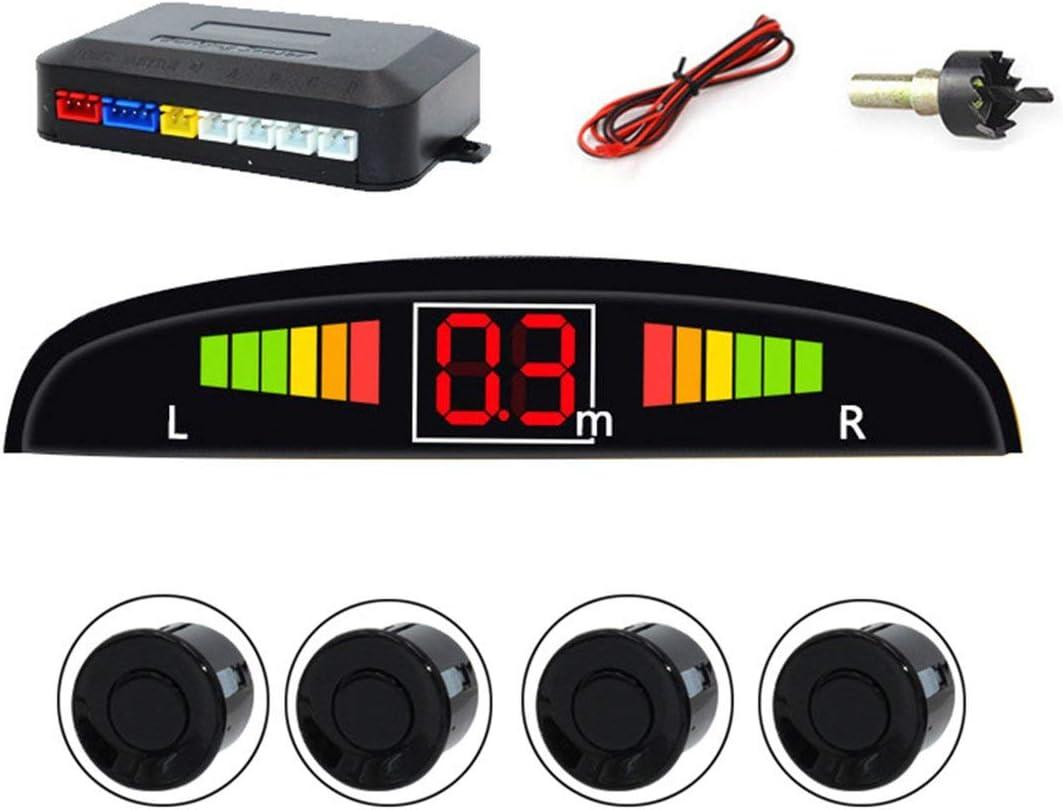 capteurs de d/étection Parktronic LED syst/ème de d/étection des Angles Morts syst/ème de d/étection des d/étecteurs dangle Mort Noir