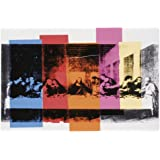 Detail of the Last Supper, c.1986 Art Poster Print by Andy Warhol, 19x13 Art Poster Print by Andy Warhol, 19x13