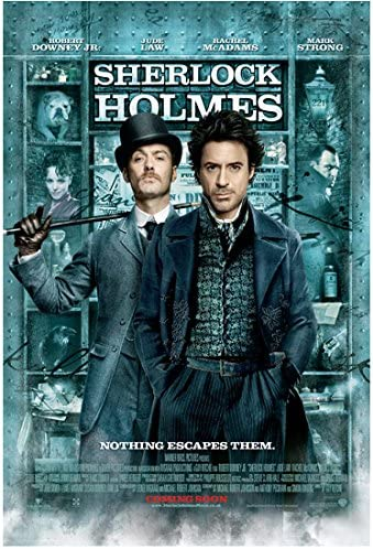 Sherlock Holmes 8 Inch x 10 Inch Photo Movie Poster Jude Law ...