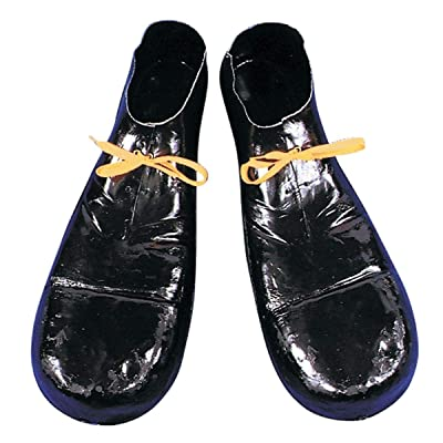 Forum Novelties Jumbo Clown Shoes, Black: Toys & Games