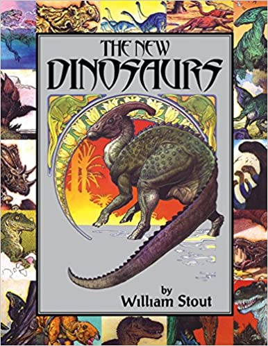 The New Dinosaurs Byron Preiss William Stout George Olshevsky