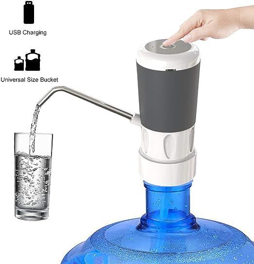 Bomba de agua potable, dispensador de agua recargable por USB ...