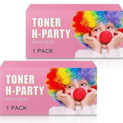 Toner H de Fiesta 2 Packs Compatible HP 85 A CE285 A Toner para HP ...