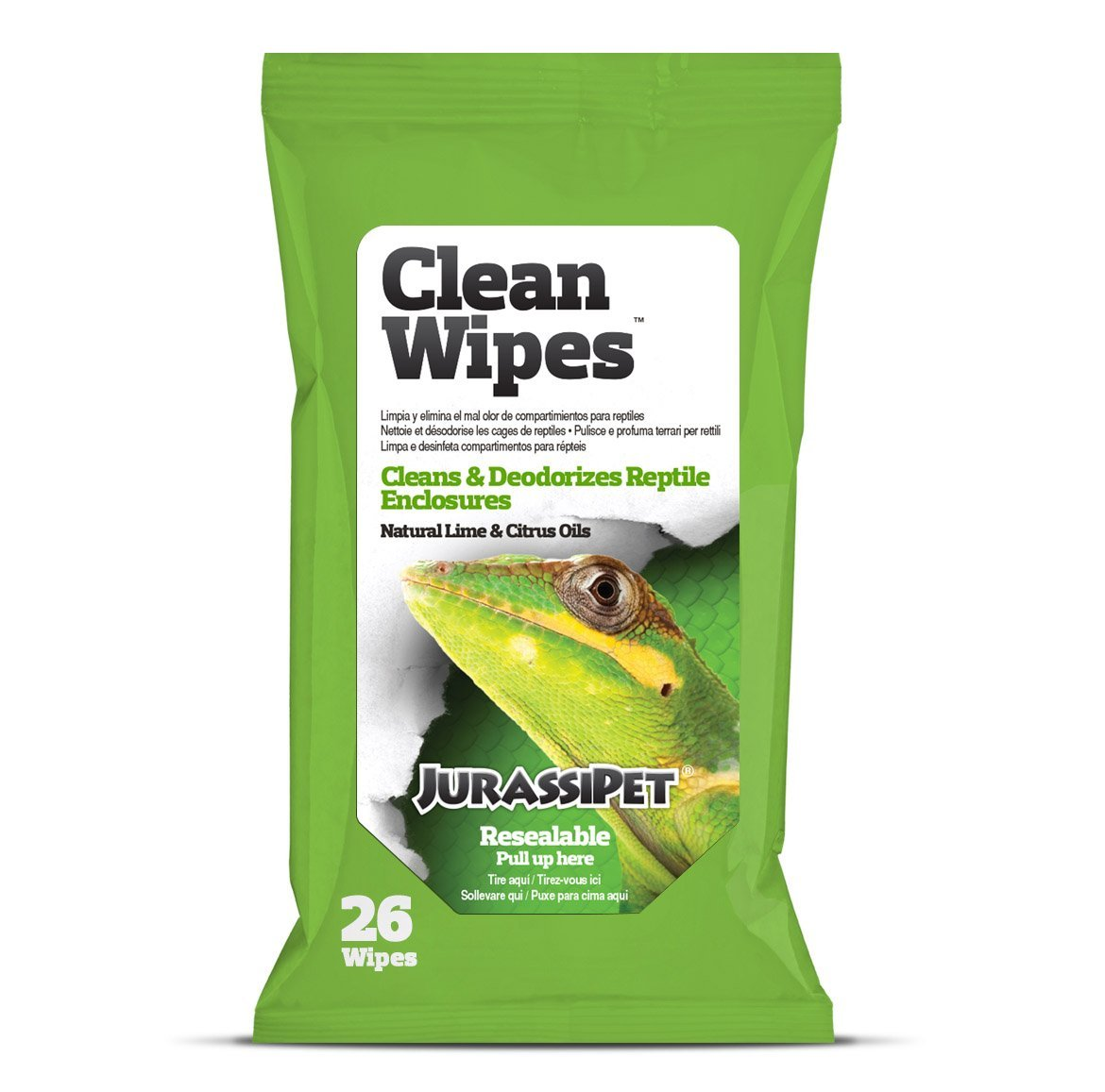 Jurassipet Clean Wipes, 26 count 8551