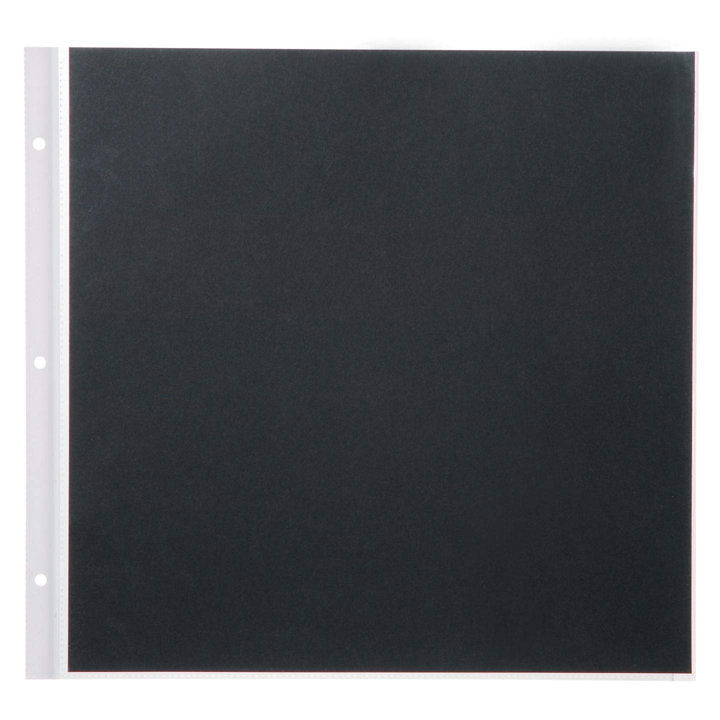 Darice Bulk Buy DIY Memory Book Refill Pages Black 12 x 12 inches 5 Pieces (10-Pack) 1209-94
