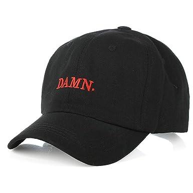 Adjustable Dad Hat Baseball Cap Kendrick Lamar Hip-hop Caps Damn Trucker  Hats Men Women acdeb754457