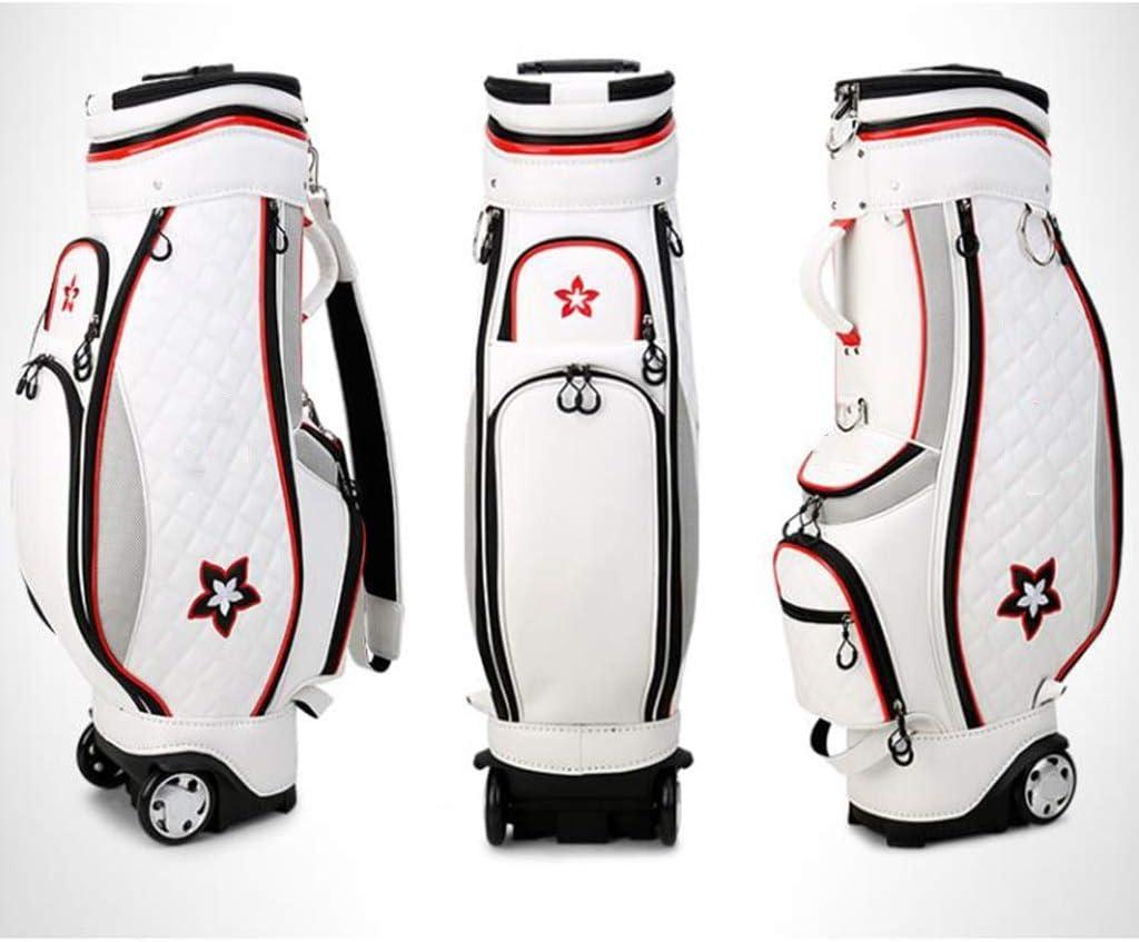 LLKOZZ ゴルフテレスコピックバッグ、100%防水、マルチカラーオプション、126×25×42cm (Color : A) A