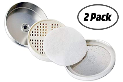 Replacement Filter Cartridge Set for PureAction Shower Head Filter - Dechlorinating Shower Filter Removes Chlorine and
