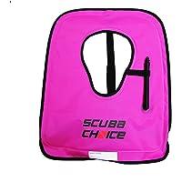 Scuba Choice - Chaleco de Buceo para Adultos con Caja de Nombre, Talla XL, Color Morado