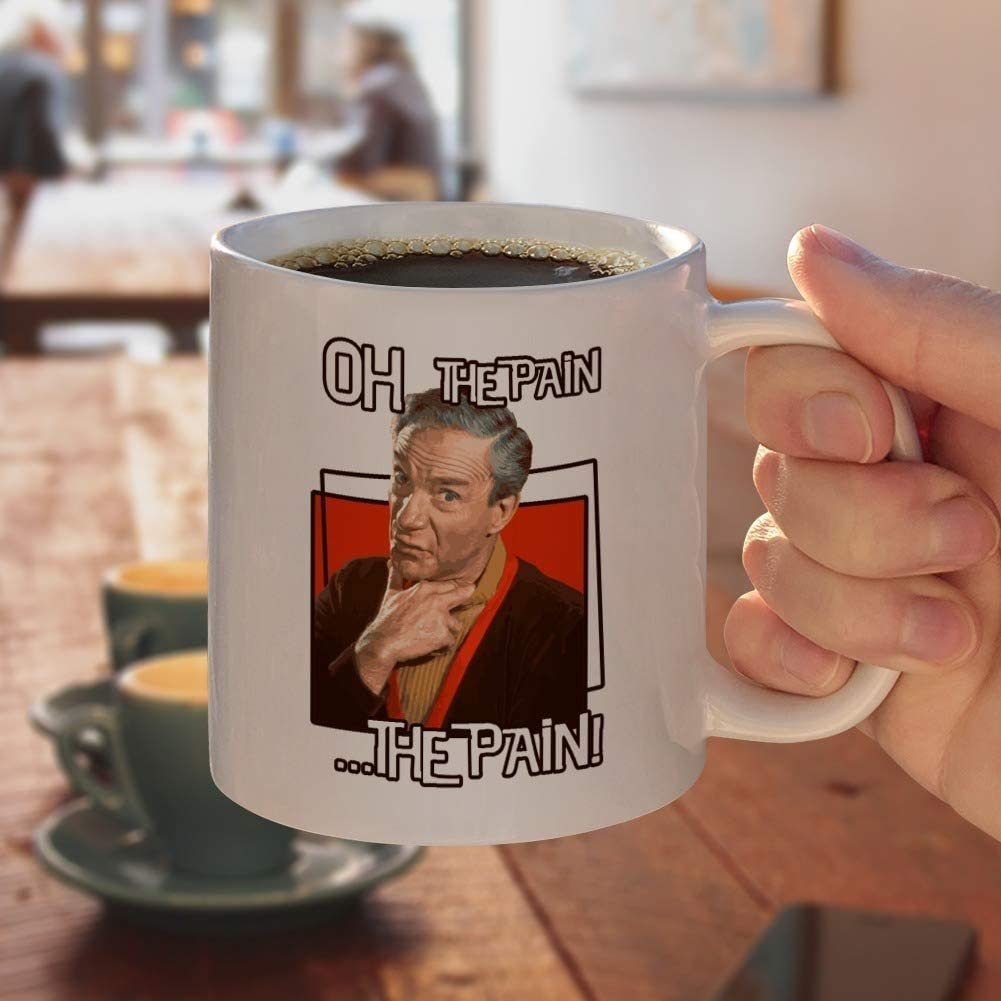 Oh The Pain Doctor Smith Lost In Space White Mug