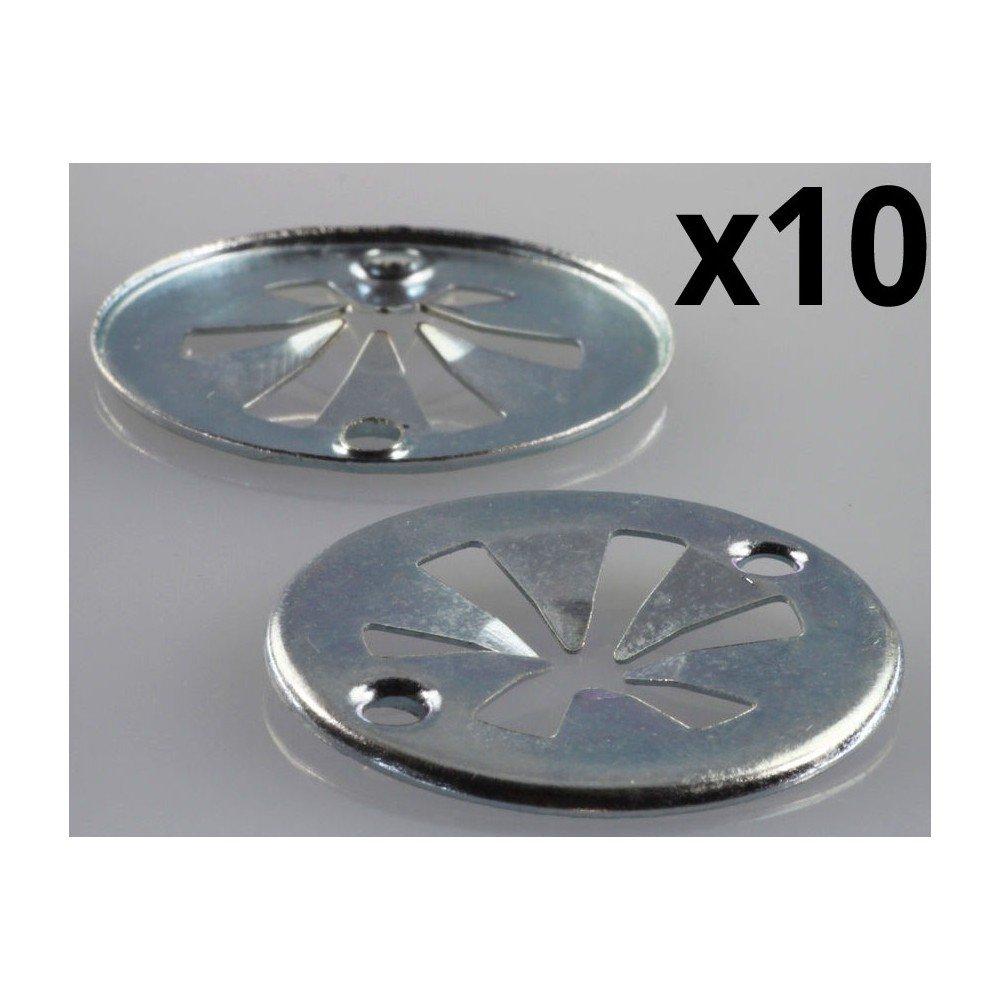Autoparts - 10x Clips metalicos Cubierta Motor A4C70143Z