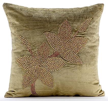 Amazon Sage Green Throw Pillows Cover Sage Green Zardozi New Sage Green Decorative Pillows
