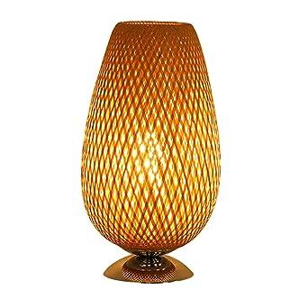 TangMengYun Lampe De Table Créative Du Sud Est Asiatique En Bambou, Lampe  De Chevet