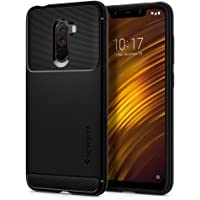 Spigen 8809613767179 Rugged Armor Xiaomi Pocophone F1 Black Phone Case