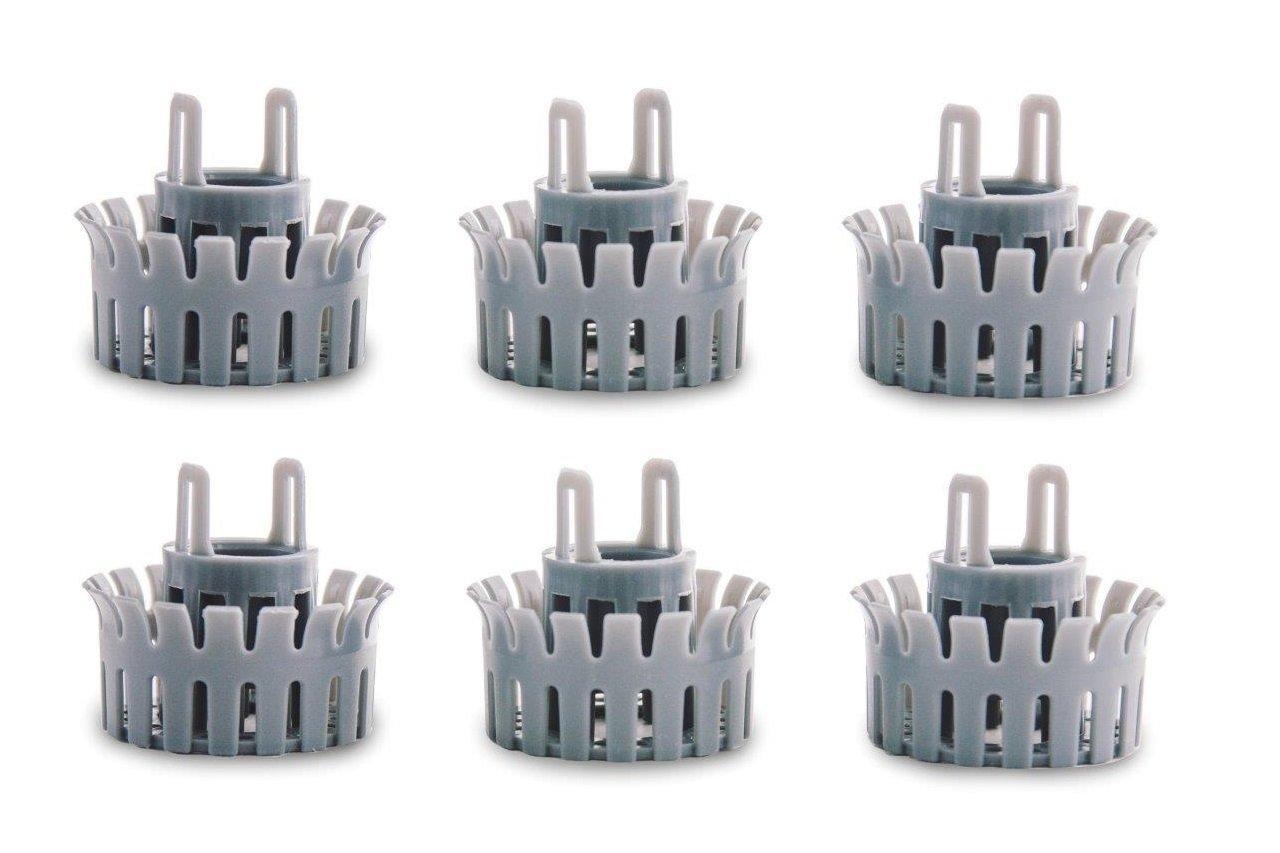 Drainstrain Bathtub Replacement Baskets: 6-Pack