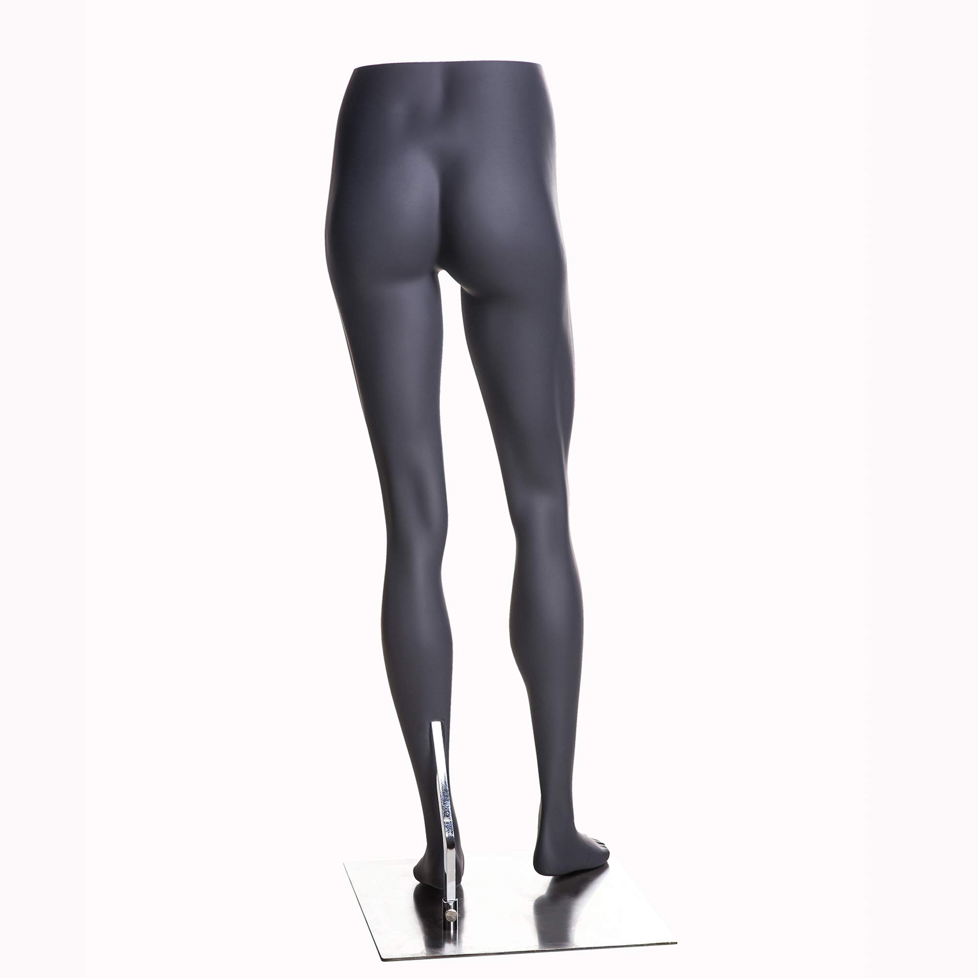 (MZ-HEF22LEG) High end Quality. Eye Catching Female Headless Mannequin Leg, Athletic Style. Standing Pose. by Roxy Display (Image #4)