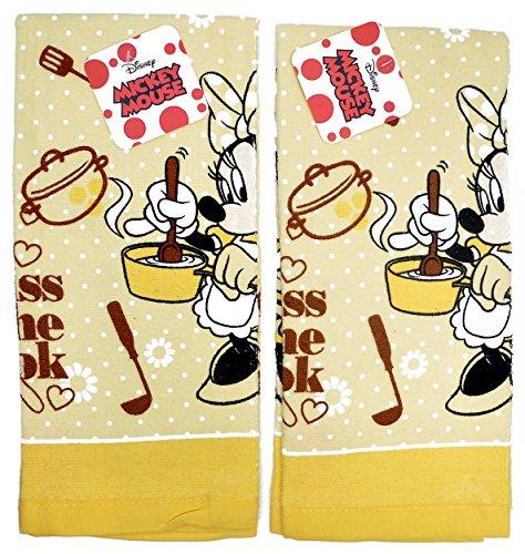 Disney Towels Kitchen Cloths Minnie
