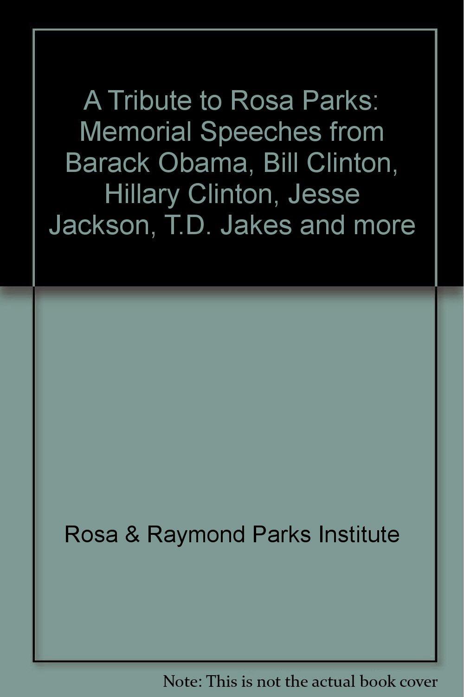 Speech for memorial tribute