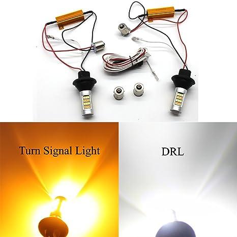 bombillas led coche Ba15S luz posicion 1156 luces led coche 12v