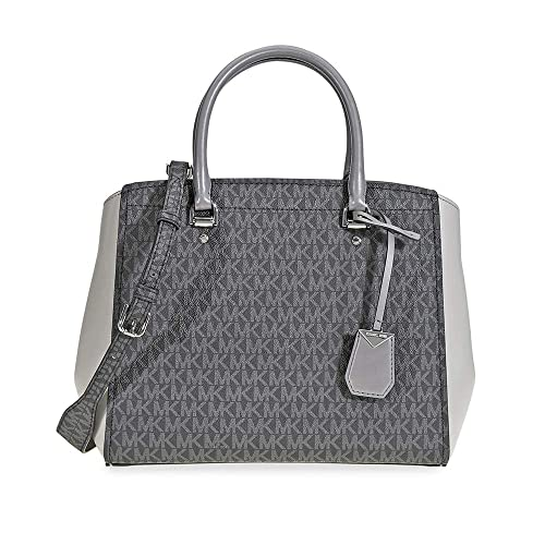 8f03542d8185 Michael Kors Signature Logo Print Tote Bag - Grey: Amazon.co.uk: Shoes &  Bags