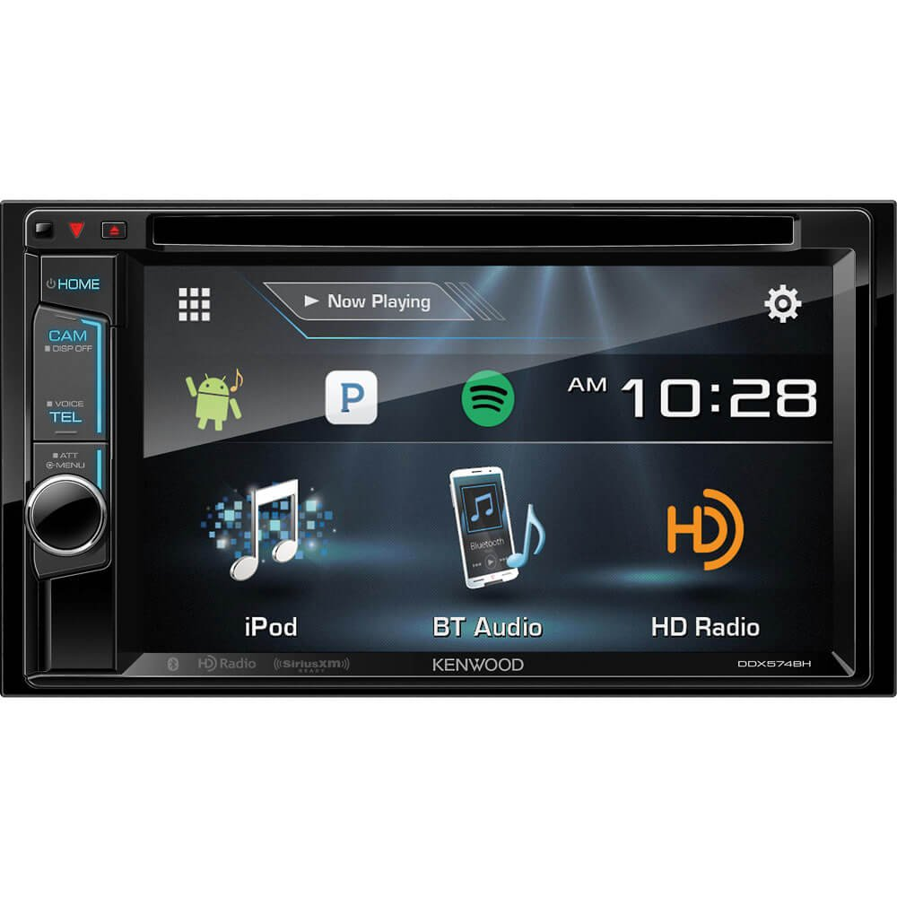 Kenwood Ddx574 Ddx574bh Double Din 62 Dvd In 2008 Toyota Tundra Wiring Harness Cd Dash Receiver Cell Phones Accessories