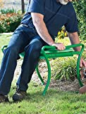 Heavy-Duty Foldable Garden Kneeler/Bench (Green)