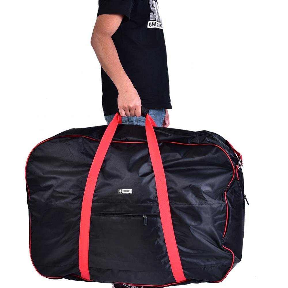Dilwe Bicycle Carry Bag, Portable Folding 2 Sizes Transport Cover Carrying Case for 14-20in Bikes with Shoulder Strap by Dilwe (Image #9)