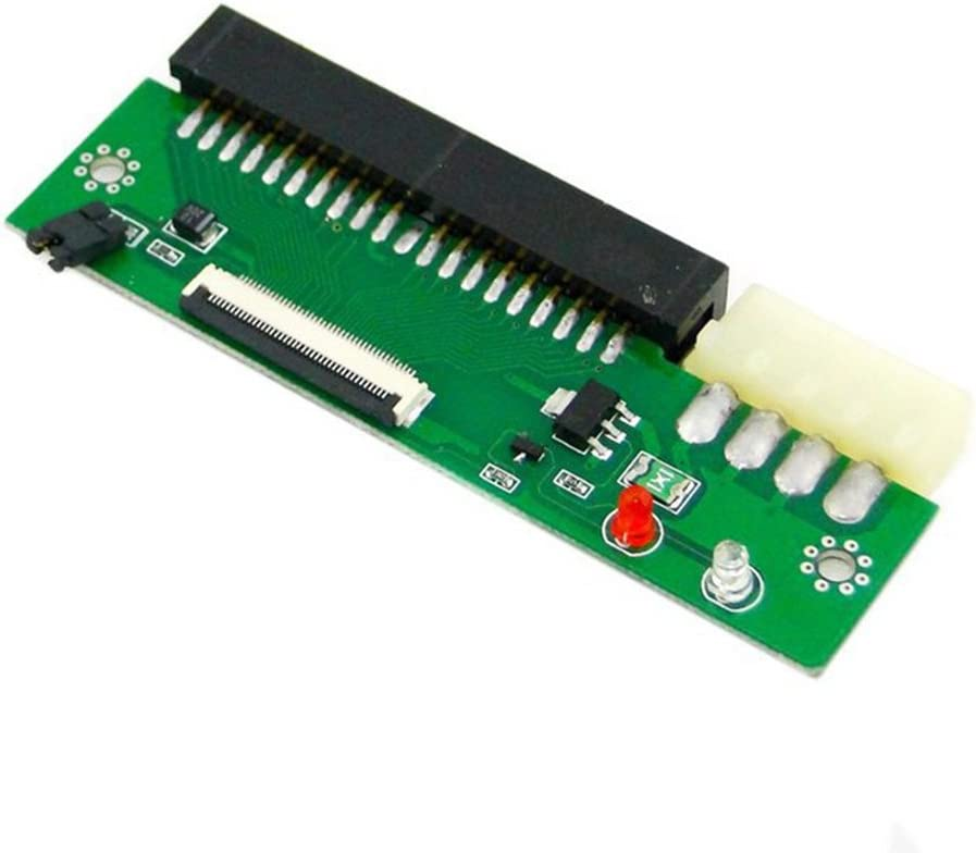 ZIF CE 1.8 Micro Drive 50pin to 3.5 IDE 40 Pin PC Adapter with Cable