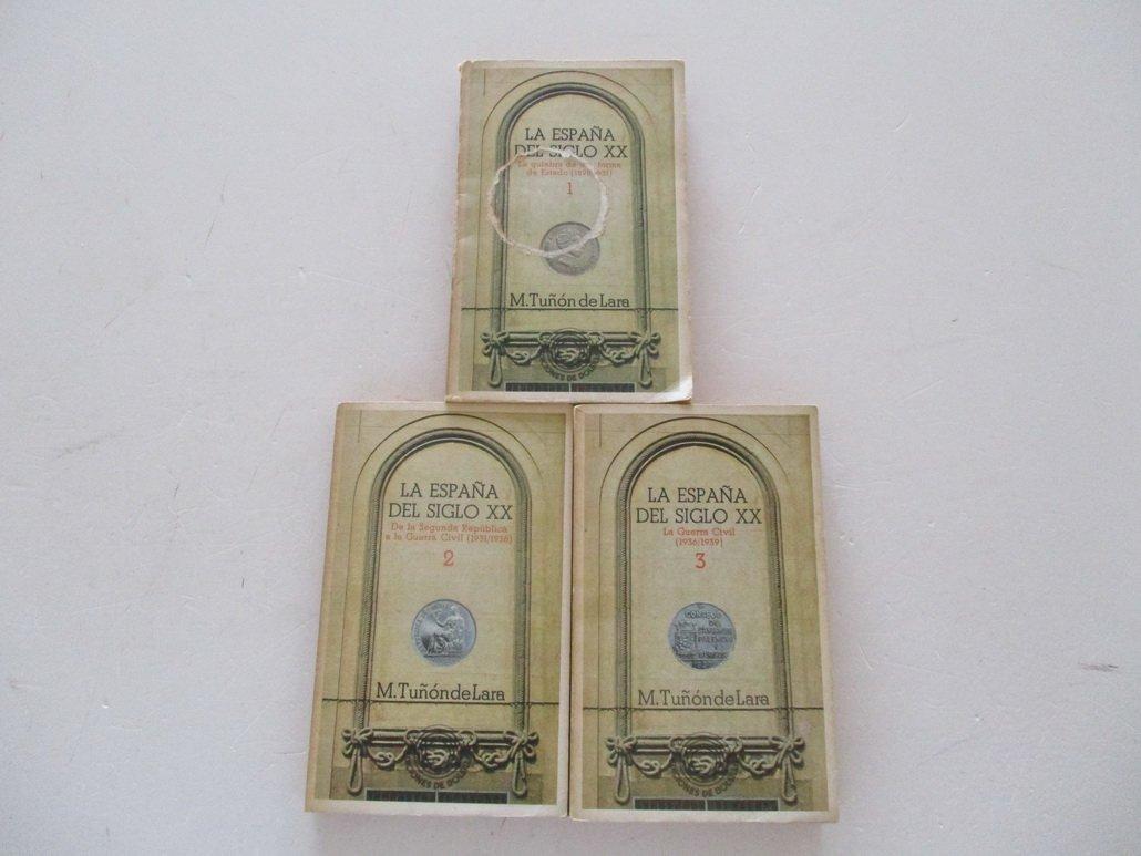 España del siglo XX (Ediciones de bolsillo): Amazon.es: Tuñón de ...