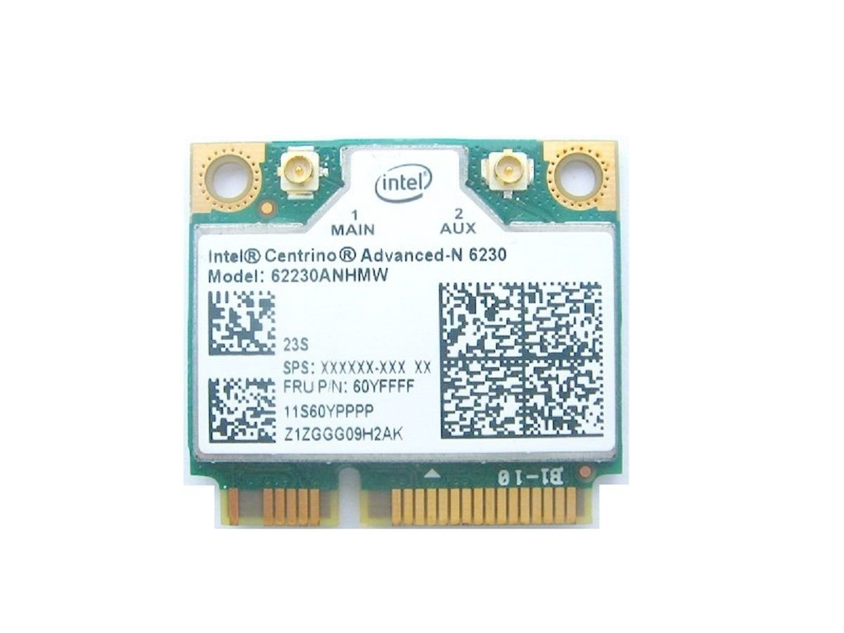 Intel Centrino Advanced-N 6230 wireless card 11S60YPPPP Designed ...