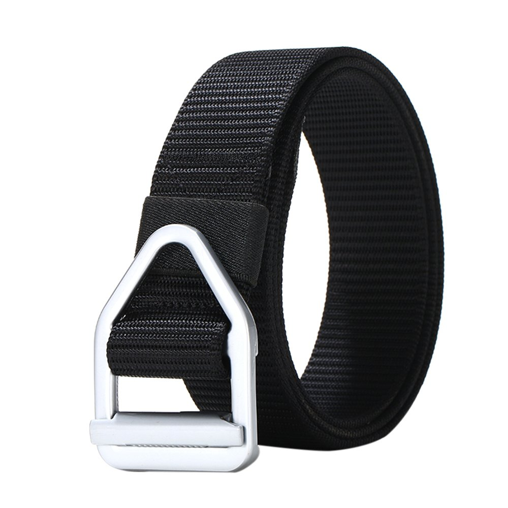 NXY Nylon Belts for Men Military Timeless Style D Ring Alloy Buckle