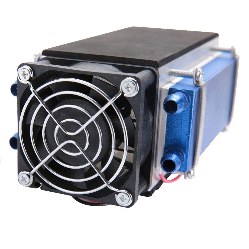 Thermoelectric Air Cooler 12V 420W 6-Chip Thermoelectric Semiconductor Cooler Air Cooling Device