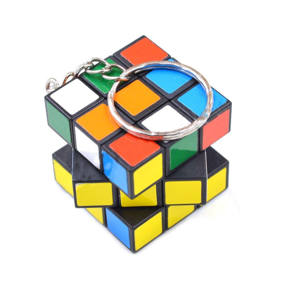 Llavero cubo tipo Rubik 3x3 regalo original: Amazon.es ...