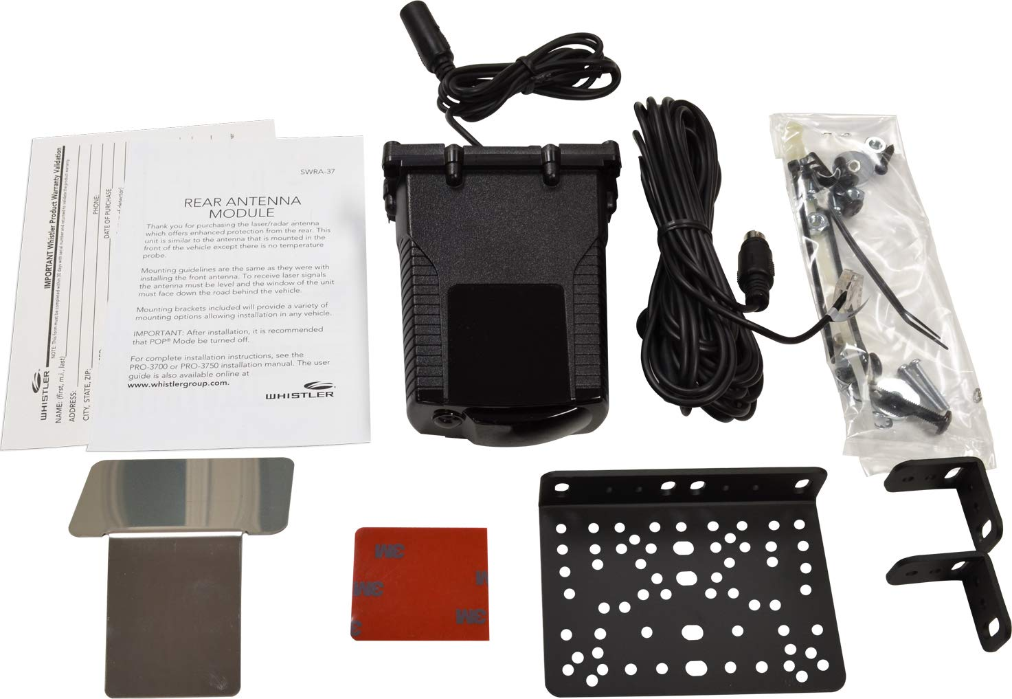 Amazon.com: Whistler SWRA-37 Laser Radar Detector Accessory: Rear Antenna Module: Cell Phones & Accessories