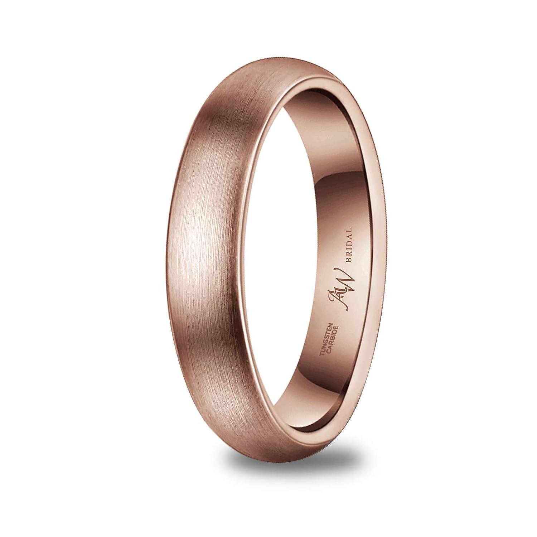 Tungsteno Ajuste C/ómodo 2-8mm Anillo de Boda Compromiso Plata//Oro//Oro Rosa Tama/ño 9-35 Anillo de Hombre Mujer Unisex