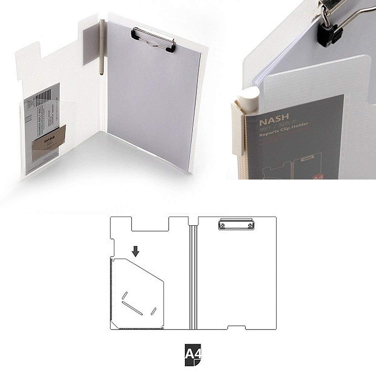 Amazon.com: Carpeta de Archivos portapapeles tamaño carta ...