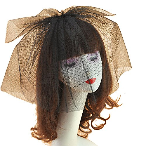 Women Fascinators Hat Mesh Dress Derby Hat Headband