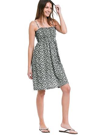 Ellos Womens Plus Size Smocked Bodice Dress At Amazon Womens