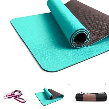 UKIYES Colchoneta de Alta Densidad Verde Yoga,Engrosamiento ...