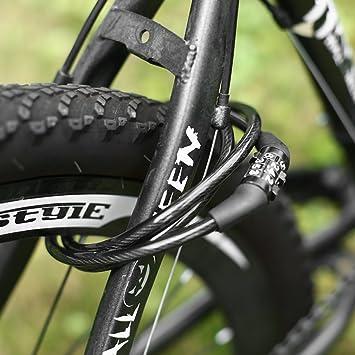 Mikimo - Candado de Seguridad antirrobo para Bicicleta ...