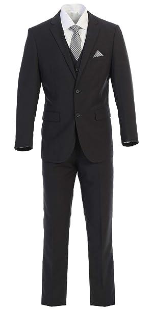 Amazon.com: King Formal Wear - Traje de tres piezas para ...