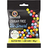 The Sugarless Company A Be Smart Chocolate Beans, 80g