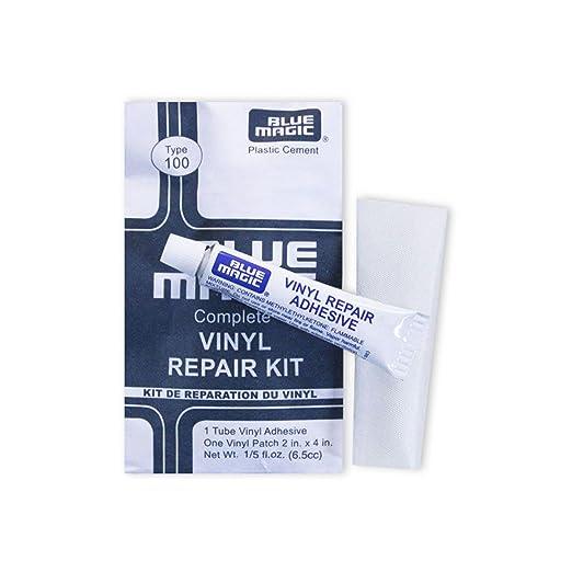 Blue Magic Adhesivo y Parches para colchones de Agua Adhesivo y ...