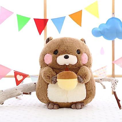 Juguetes Diseño, Zantec Juguetes de marmota de peluche lindo Regalos de muñeca de marmota relleno